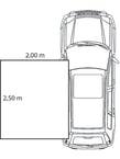 Awnings mounting setup drawings Quad 2,5x2