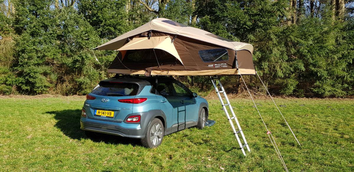 DTBD Outdoor 140L Delux  Rooftoptent dachzelt Daktent (2)